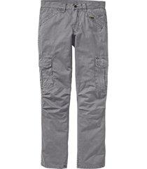 pantaloni cargo loose fit straight (grigio) - rainbow