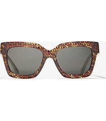 mk occhiali da sole berkshires - marrone (marrone) - michael kors