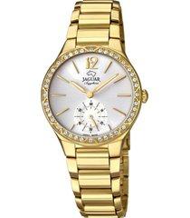 reloj cosmopolitan dorado jaguar