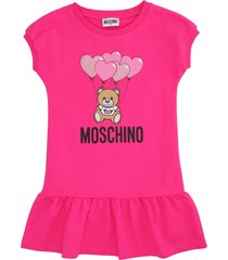 moschino logo print t-shirt dress