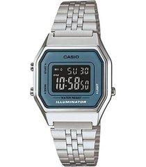 relógio casio vintage la680wa-2bdf