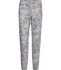 pant pyjamasbyxor mjukisbyxor grå pj salvage