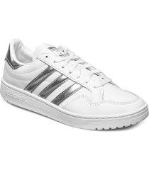 team court w låga sneakers silver adidas originals