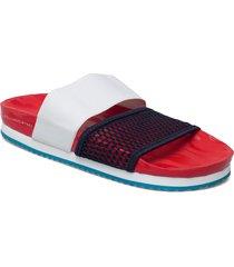 asmc lette shoes summer shoes flat sandals röd adidas by stella mccartney