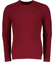 dstrezzed pullover - slim fit - rood