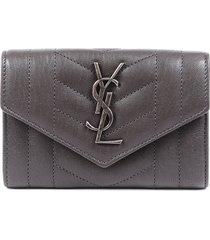 saint laurent small monogram envelope wallet