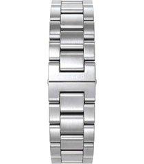 correa reloj plata abaco acero 22 mm
