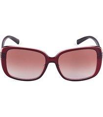 56mm square sunglasses