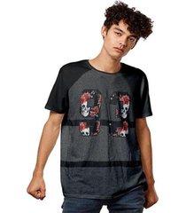 camiseta 93 brooklyn style raglan masculina - masculino