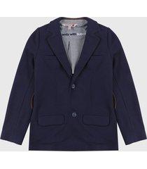 blazer azul boboli