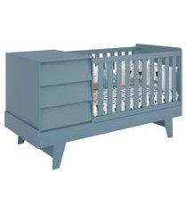 berço prince azul reller móveis
