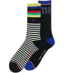 tommy hilfiger men's 2-pk. casual socks