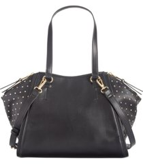 inc hazell studded rainbow satchel, created for macy's