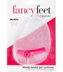 fancy feet by foot petals thong sandal gel cushions shoe inserts women's shoes