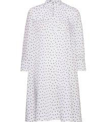 organic paisley stretch danzy korte jurk wit mads nørgaard