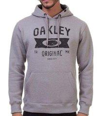 blusa canguru oakley varsity masculino