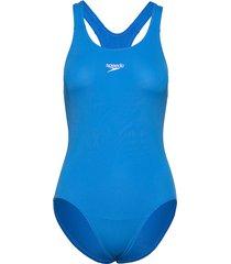 endurance+ medalist baddräkt badkläder blå speedo