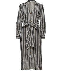 olle shirt dress jurk knielengte grijs iben
