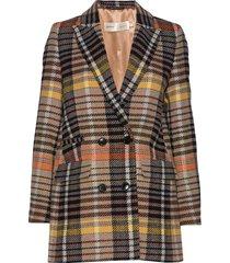 zettaiw db coat blazer colbert oranje inwear