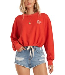 billabong juniors' faded in the sun sweatshirt