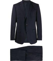 boss tailored suit set - blue