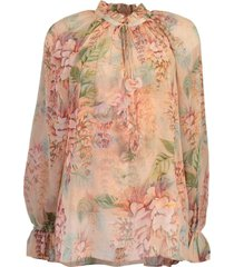 coral tree candescent blouse