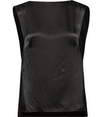 blo1018s91 t-shirts & tops sleeveless svart by malene birger