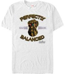marvel men's avengers infinity war all things should be balanced short sleeve t-shirt