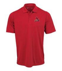 antigua men's st. louis cardinals tribute polo shirt