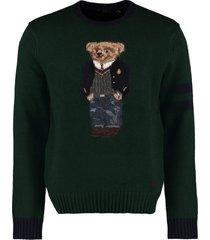 ralph lauren intarsia wool sweater