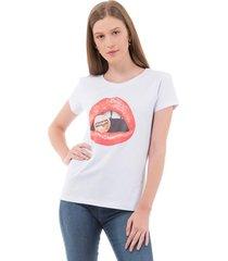 tshirt feminina wrangler urbano - wf8001 - kanui