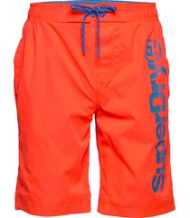 superdry classic boardshort surfshorts orange superdry