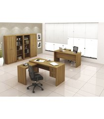 armã¡rio alto com 2 portas me 4105 tecno mobili marrom - marrom - dafiti