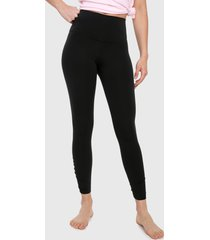 leggings negro nike yoga ruche 7/8 tight