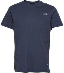 beat l-l t-shirts short-sleeved blå libertine-libertine