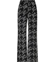pantalon met tekst