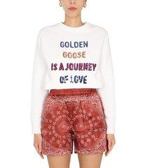 golden goose journey of love sweatshirt