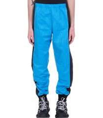 marine serre pants in blue polyester