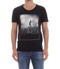 premium by jack&jones 12137146 festival print t shirt and tank men black