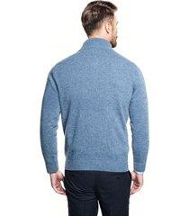 sweter nagore troyer niebieski