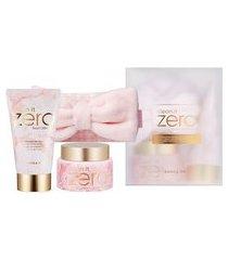 kit removedor de maquiagem clean it zero original + espuma de limpeza facial + faixa para cabedo banila co | banila co | kit