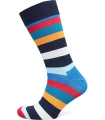 stripe sock underwear socks regular socks blå happy socks