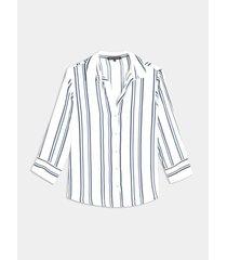 blusa camisera unicolor manga ¾