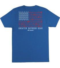 columbia men's starter short sleeve t-shirt