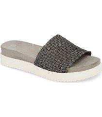 women's bernie mev. capri slide sandal, size 9us / 39eu - black