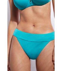 calzedonia high waist brazilian swimsuit bottom indonesia eco woman blue size 3