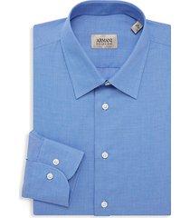 textured dress shirt