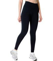 calã§a adamas legging preta cintura alta - preto - feminino - poliã©ster - dafiti
