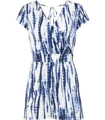 tuta in fantasia batik (blu) - bodyflirt