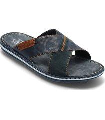 21098-14 shoes summer shoes sandals blå rieker